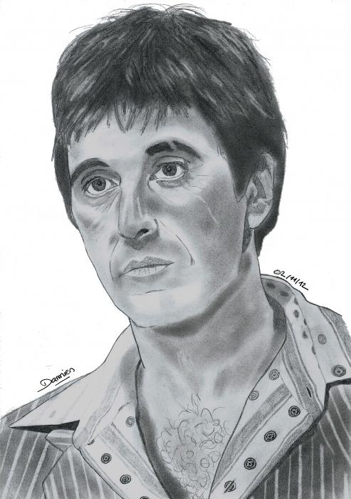 Al Pacino por gohansaiyen2